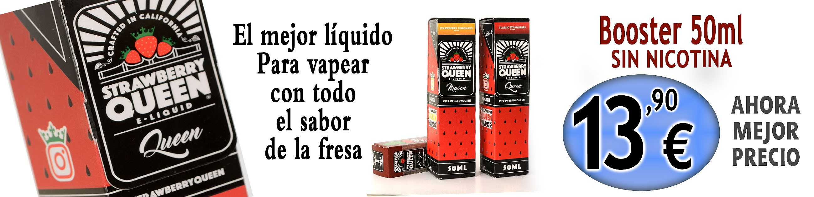 STRAWBERRY QUEEN Oferta 50 ml liquido